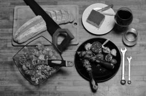 Продуктово заснемане на храна за ресторанти.